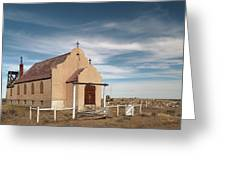 Montana Church Greeting Card