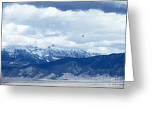 Montana Flight Greeting Card