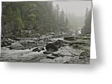 Montana Fog Greeting Card