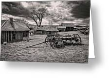 Montana Ghost Town Greeting Card