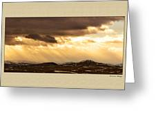 Montana Gold Greeting Card