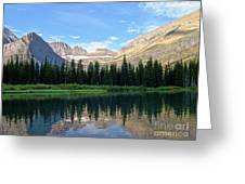 Montana Morning Greeting Card