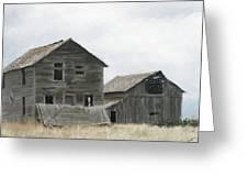 Montana Past Greeting Card