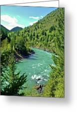 Montana River Greeting Card