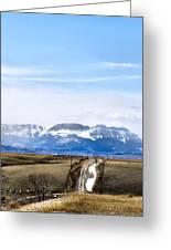 Montana Scenery One Greeting Card