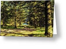 Montana Scenery Greeting Card