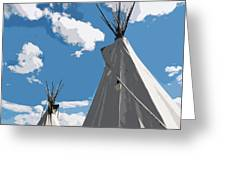 Montana Sky Greeting Card
