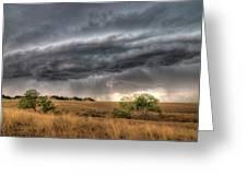 Montana Storm Greeting Card