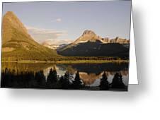 Montana Sunrise Greeting Card