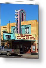 Miles City Montana - Theater Greeting Card