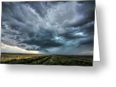 Montana Thunderstorm Greeting Card