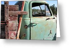 Montana Truck Greeting Card
