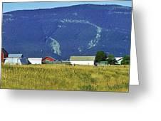 Montana Whispers Greeting Card