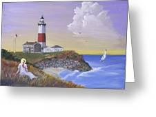 Montauk Lighthouse Greeting Card
