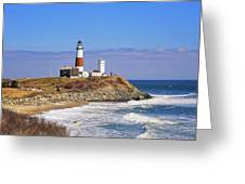 Montauk Point From Camp Hero Greeting Card