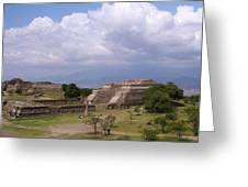 Monte Alban 2 Greeting Card