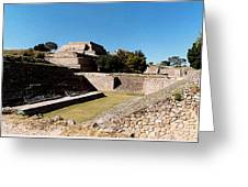 Monte Alban Ball Court Greeting Card