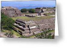 Monte Alban Greeting Card