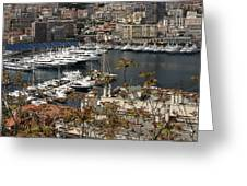 Monte Carlo 10 Greeting Card
