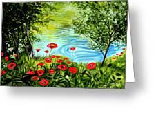 Monte Rio Poppies Greeting Card
