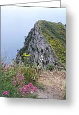 Monte Solaro Greeting Card