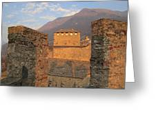 Montebello - Bellinzona, Switzerland Greeting Card