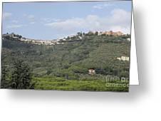 Montecatini Alto Greeting Card