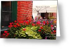 Montecillo  Greeting Card