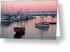 Monterey Bay Harbor Greeting Card