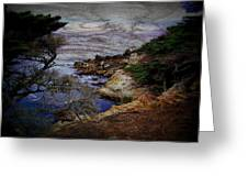 Monterey Coast Greeting Card by Jen White