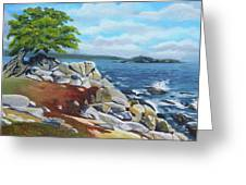 Monterey Coast Greeting Card