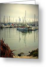 Monterey Marina II Greeting Card