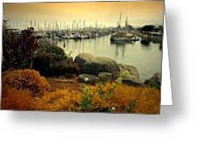 Monterey Marina Vista Greeting Card