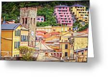 Monterosso Al Mare Cinque Terre Italy Greeting Card
