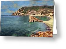 Monterosso Beach Greeting Card
