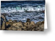 Montery County Coast, California Greeting Card