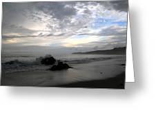 Montezuma Beach  Greeting Card