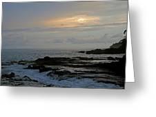 Montezuma Sunset Greeting Card