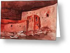 Montezuma's Castle Greeting Card