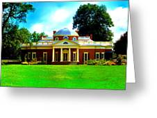 Monticello Greeting Card