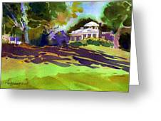 Monticello In October Greeting Card