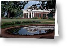 Monticello Reflections Greeting Card