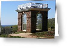 Monticello's Overlook Greeting Card