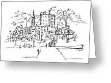 Montmarte Greeting Card