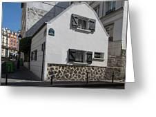 Montmarte Paris Rue Durantin Greeting Card