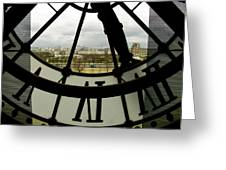 Montmartre From Musee D'orsay Greeting Card