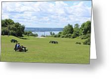 Quebec Picnic Greeting Card
