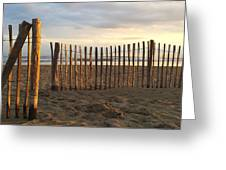 Montpellier France Beach  Greeting Card