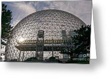 Montreal Biosphere 2 Greeting Card