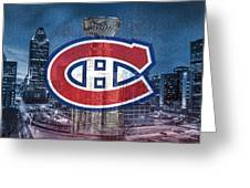 Montreal Canadiens City Greeting Card